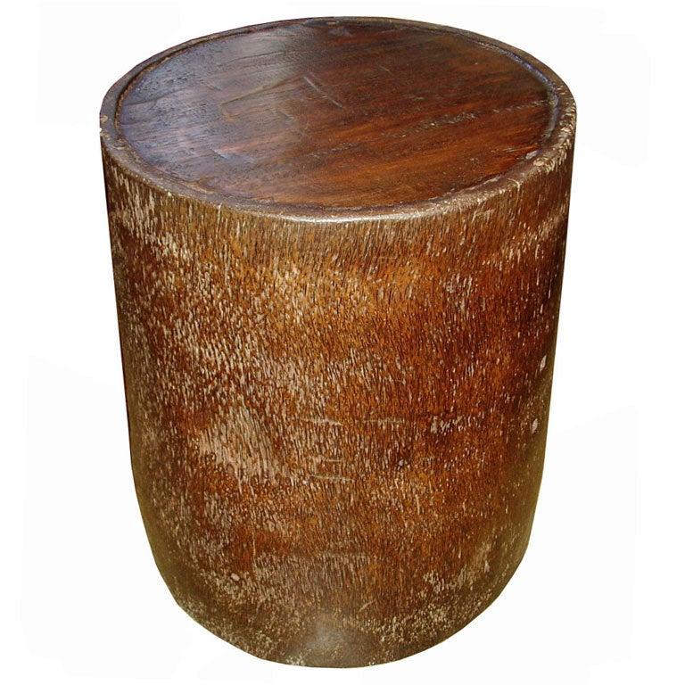 Coconut Drum Table 1