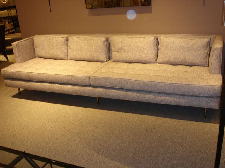 Edward Wormley for Dunbar Sofa In Excellent Condition For Sale In Los Angeles, CA