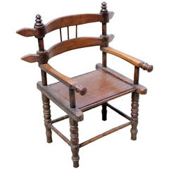 Chieftain Chair from the Ivory Coast of West Africa