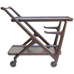 Cesare Lacca Italian Moderne  Bar Cart