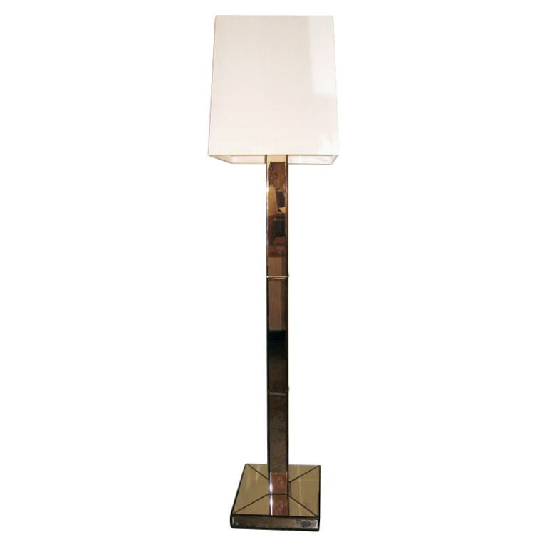 Large French Plaster Floor Lamp For Sale at 1stdibs