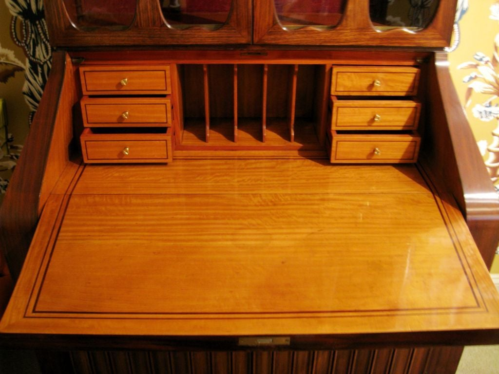 Paolo Buffa Rosewood Secretary In Excellent Condition For Sale In Los Angeles, CA