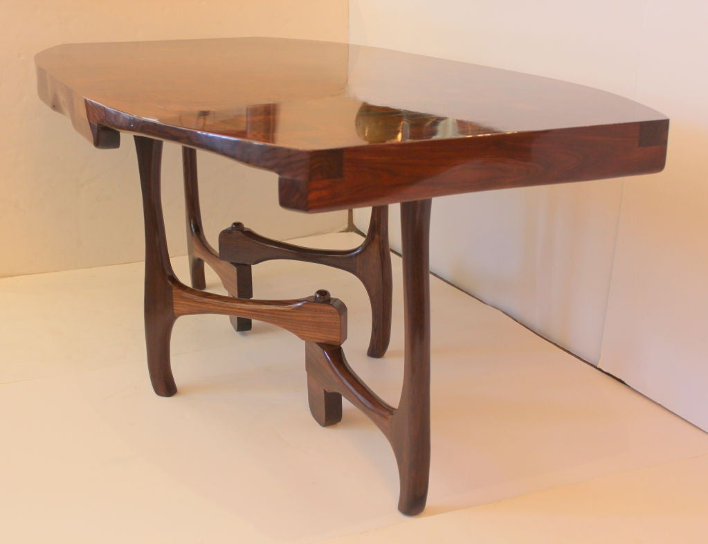 Custom don shoemaker dining table for sale at 1stdibs for Unique kitchen tables for sale