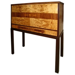 Swedish Marquetry Secretary