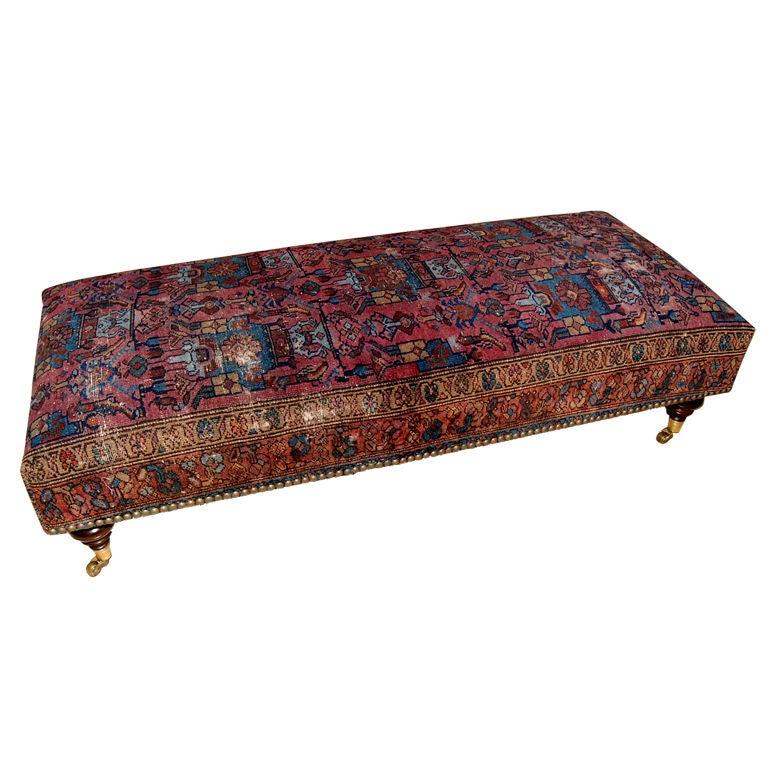 Long Rug Ottoman Coffee Table At 1stdibs