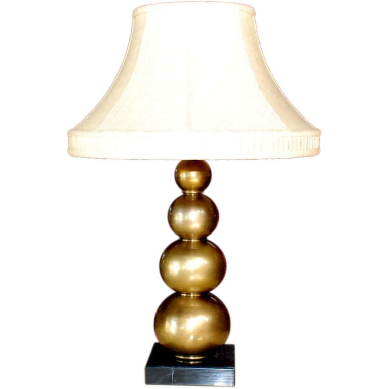 brass table lamp with marble base at 1stdibs. Black Bedroom Furniture Sets. Home Design Ideas