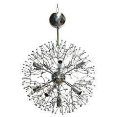 Sciolari Chrome Sputnik Chandelier