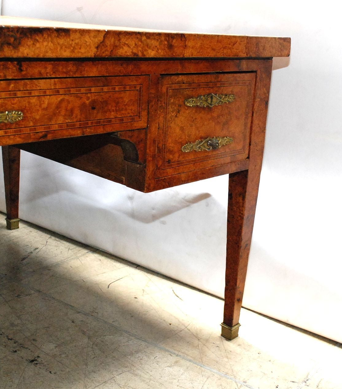 French Partners Desk In The Directoire Style Good Condition For Los Angeles