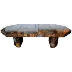 Paul Evans Custom Patchwork Dining Table