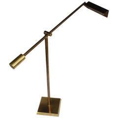 Vintage Frederick Cooper Brass Floor Lamp