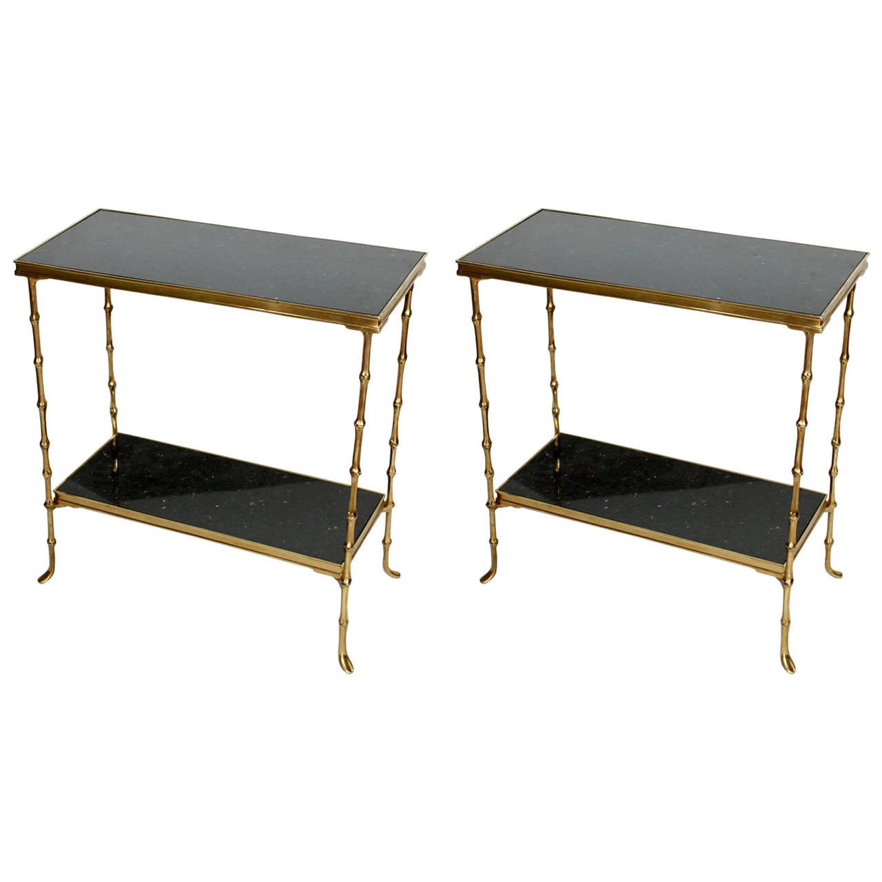 Pair of maison bagu s side tables at 1stdibs - Archives departementales 33 tables decennales ...