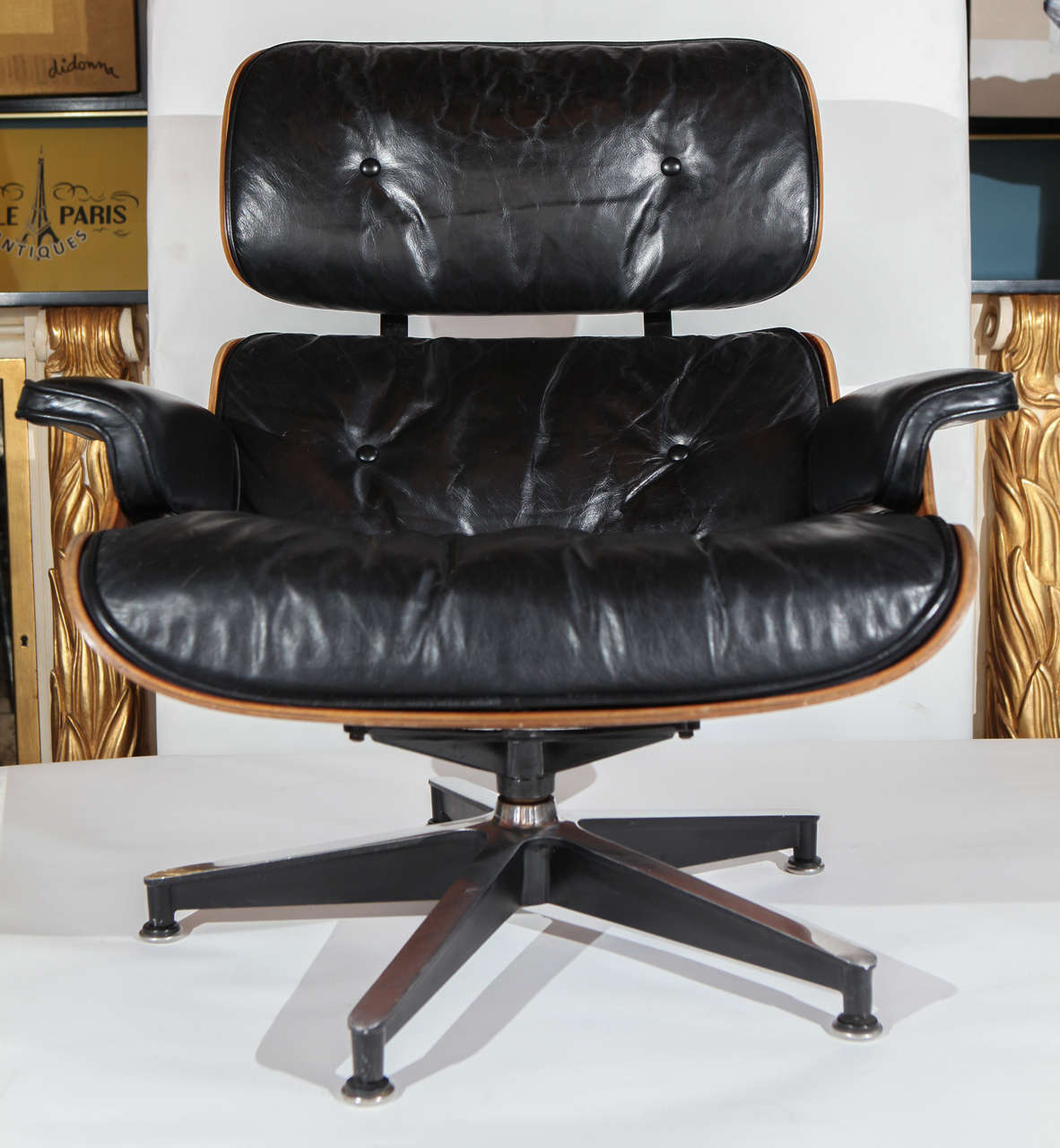 Vintage eames lounge chair - Early Original Eames Lounge 670 671 Armchair And Ottoman 2