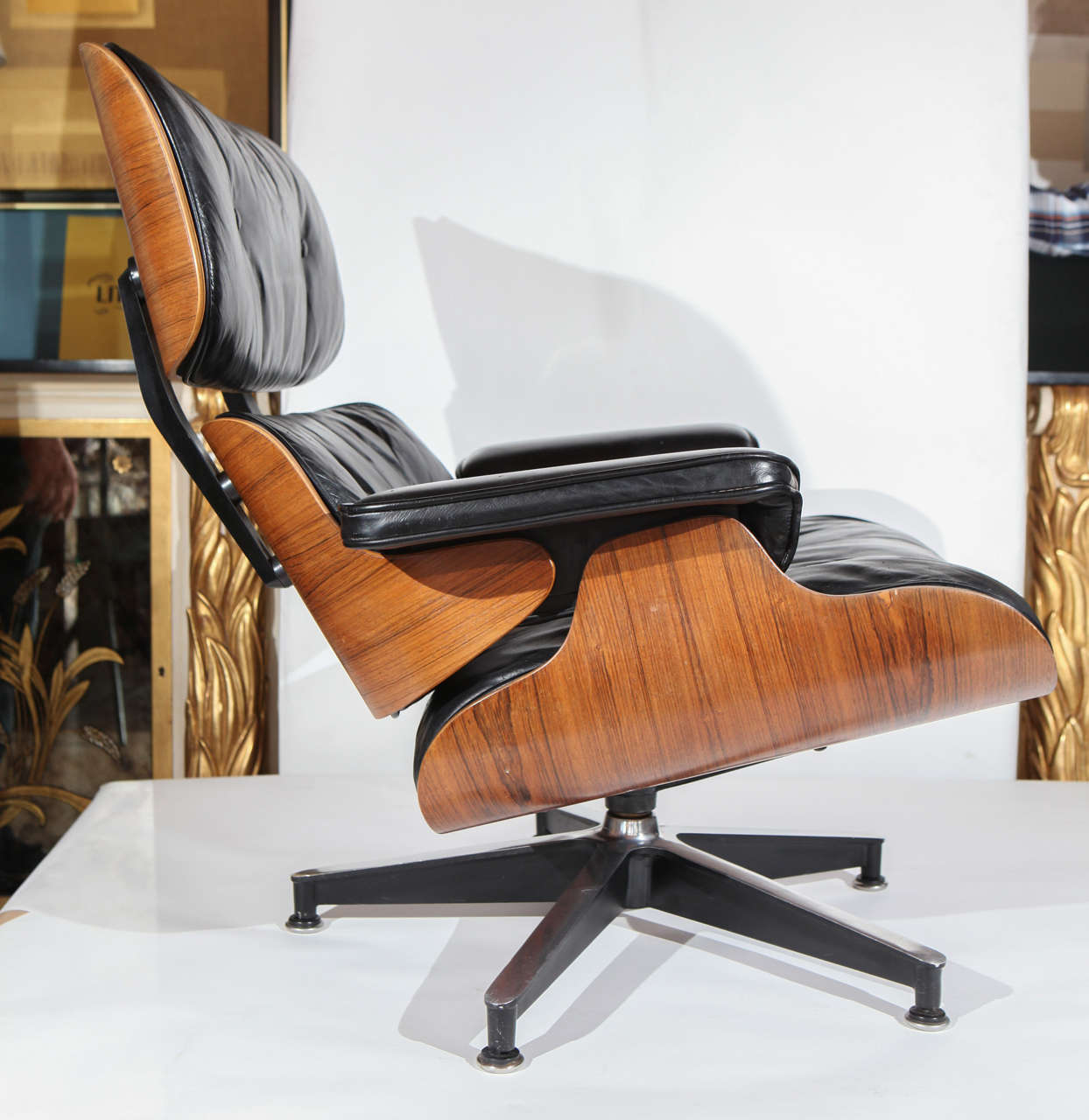 early original eames lounge 670 671 armchair and ottoman at 1stdibs. Black Bedroom Furniture Sets. Home Design Ideas