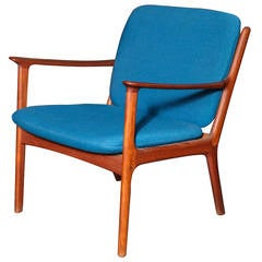 Mid-Century Armchair by Ole Wanscher
