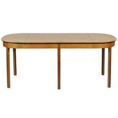 Ole Wanscher Bauhaus Dining Table for AJ Iversen, Rare