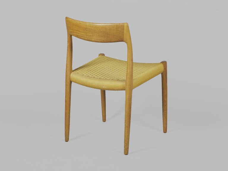 Niels Moller No 77 Teak Dining Chairs At 1stdibs
