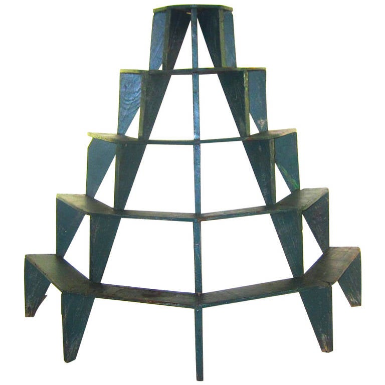 Five tiered plant stand at 1stdibs How to build a tiered plant stand
