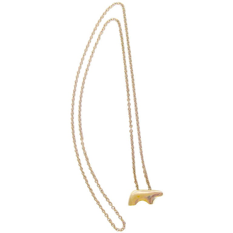 14 K Gold Necklace by The Golden Bear, Vail