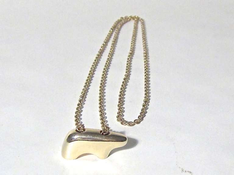 14 K Gold Necklace by The Golden Bear, Vail 1