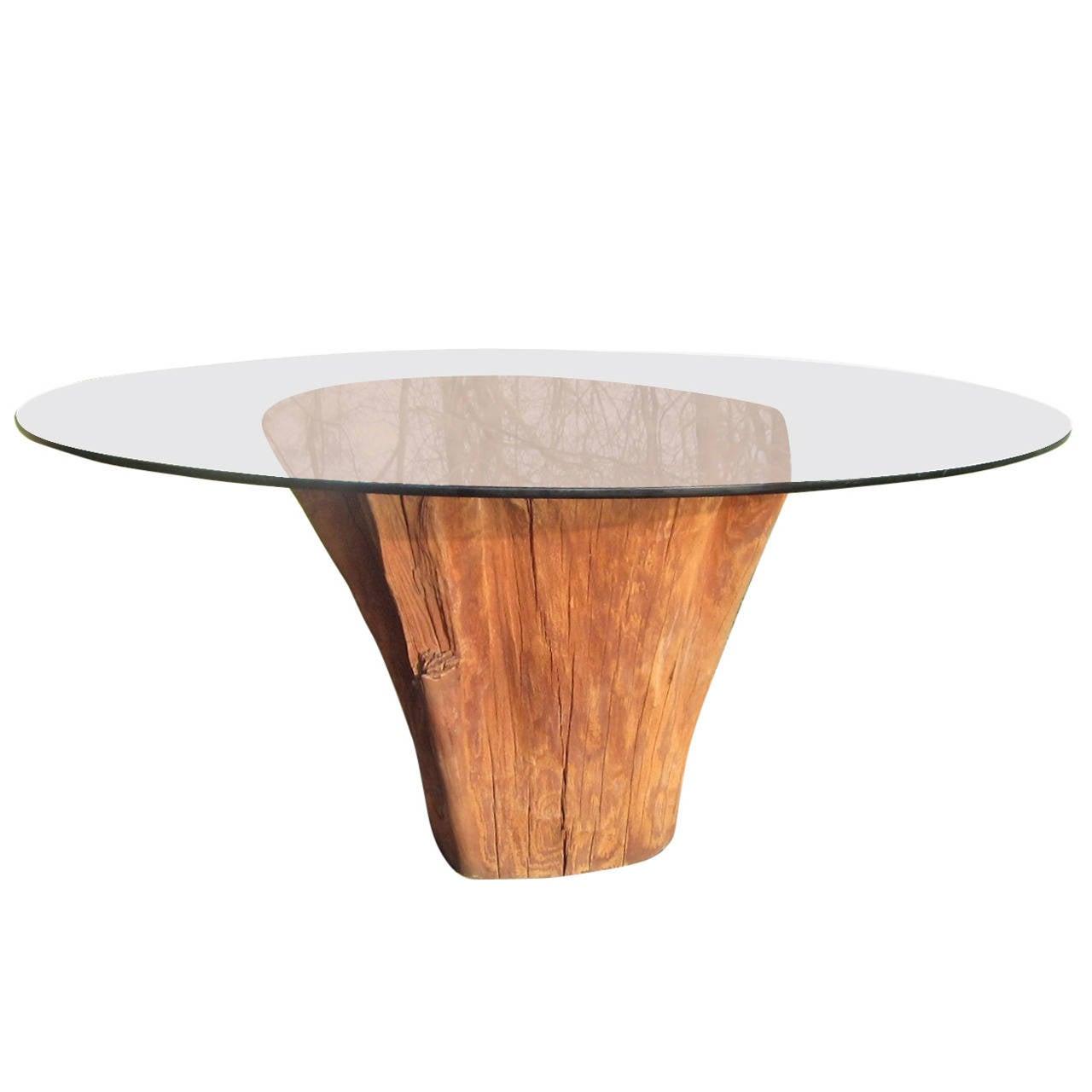 cypress dining table at 1stdibs. Black Bedroom Furniture Sets. Home Design Ideas