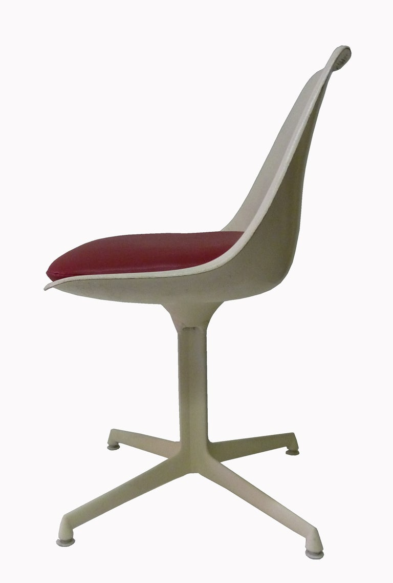 Burke Dining Chairs In Style Of Eero Saarinen Set Of Six