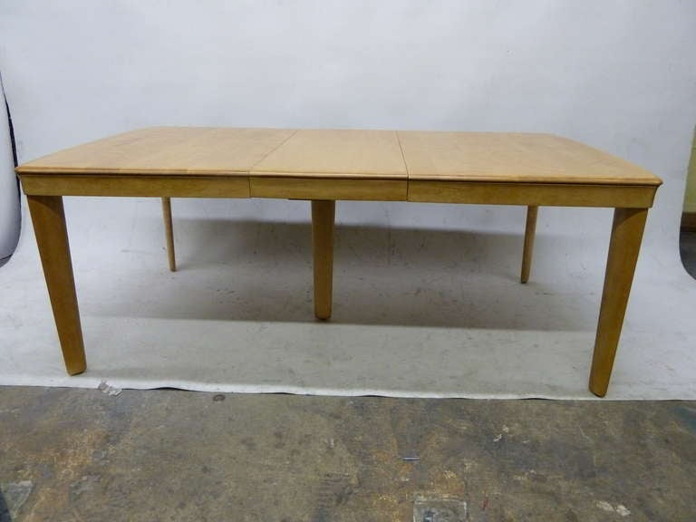 this heywood wakefield solid maple dining table is no longer available