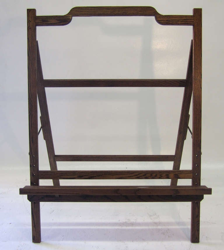 Large Mid-Century Modern Easel In Excellent Condition For Sale In Los Angeles, CA