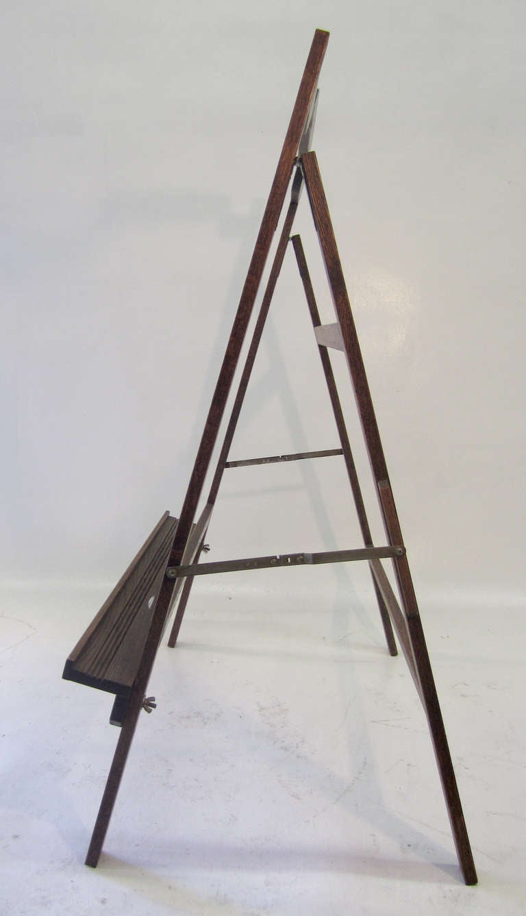 Large Mid Century Modern Easel For Sale At 1stdibs