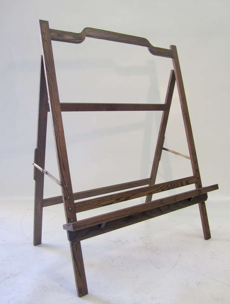 American Large Mid-Century Modern Easel For Sale