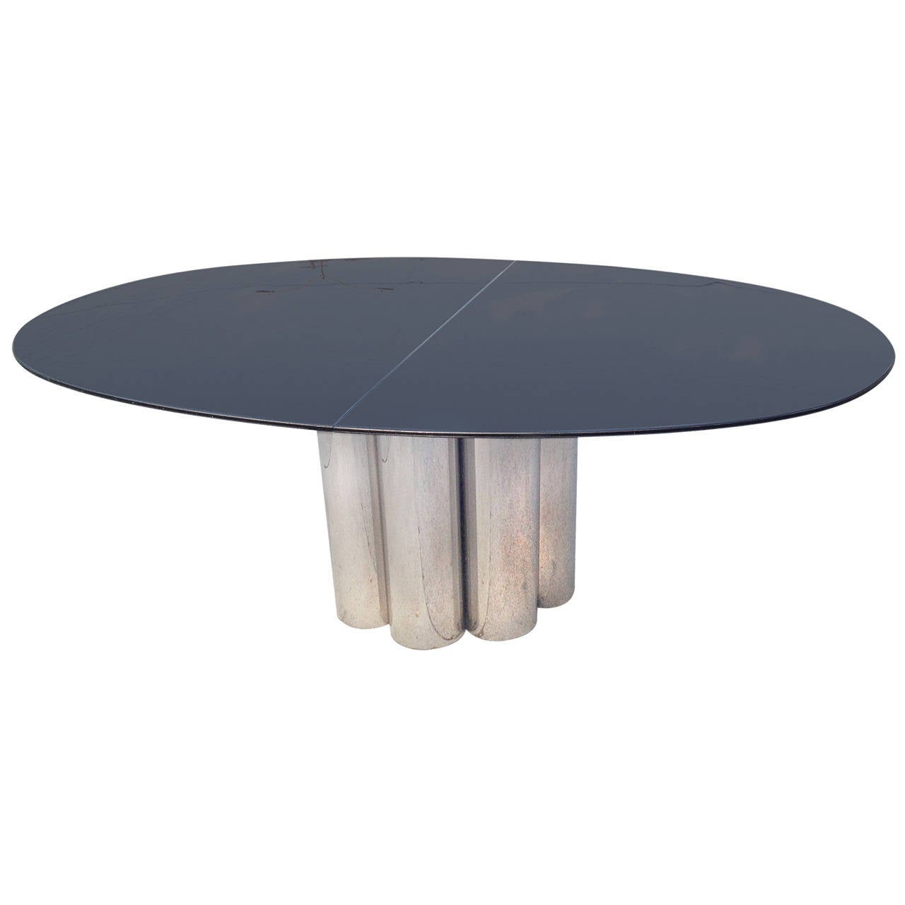 Outstanding Lucite Top And Chrome Base Dining Table At 1stdibs