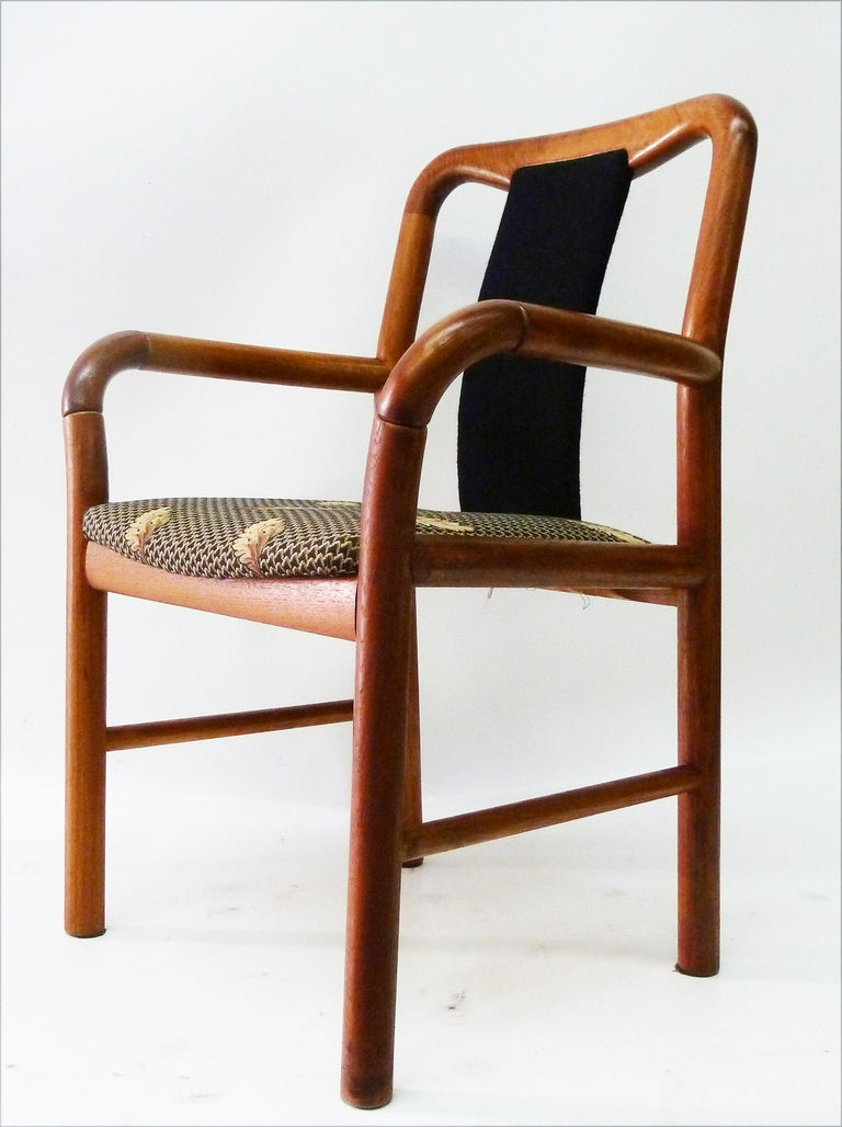 danish modern dining chairs by boltinge set of six at 1stdibs