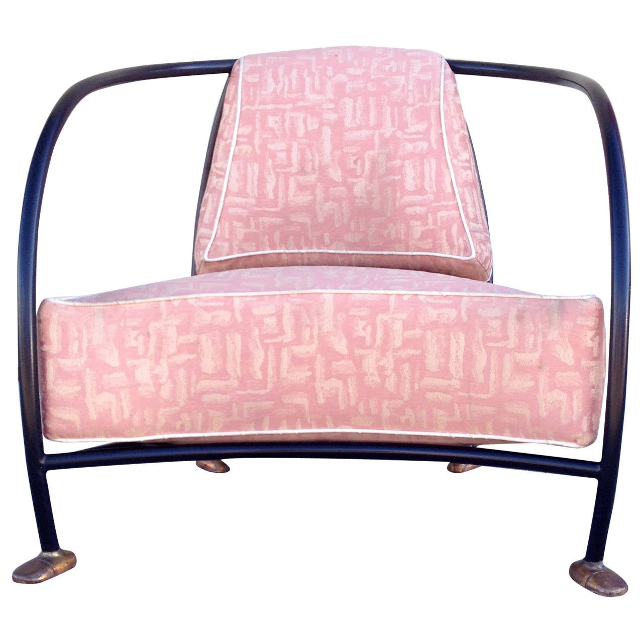Anthropomorphic 1980s lounge chair by phil miller at 1stdibs for 1980s chair