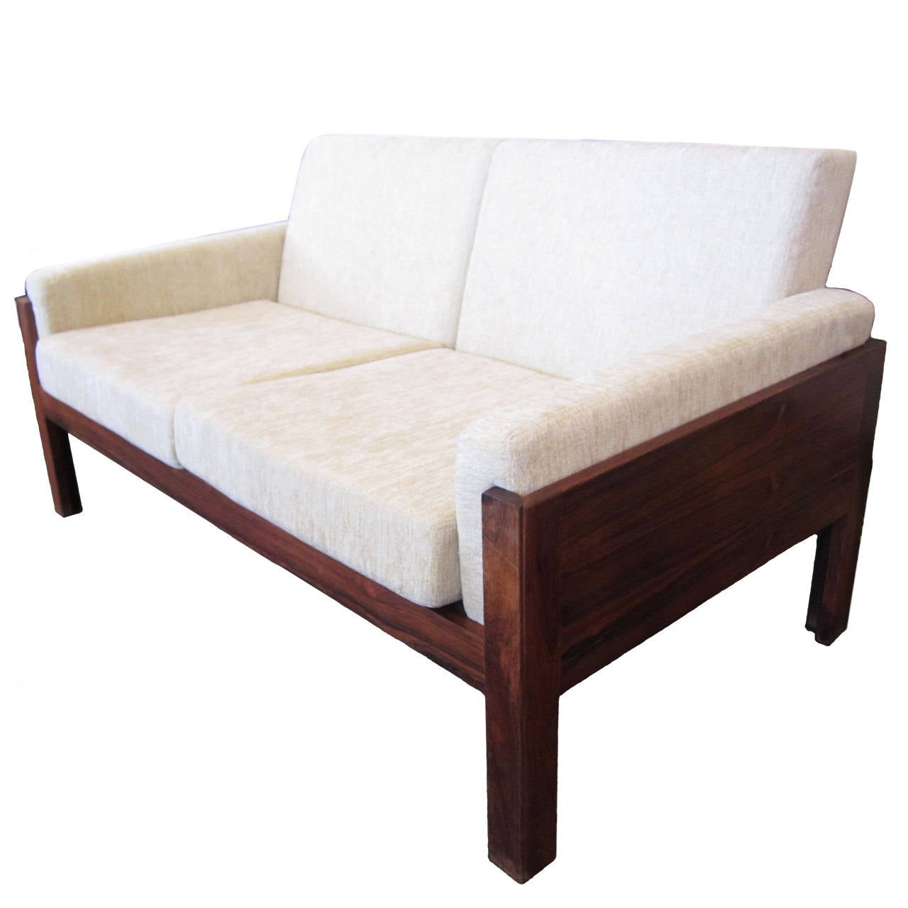 danish modern loveseat for sale at stdibs - danish modern loveseat