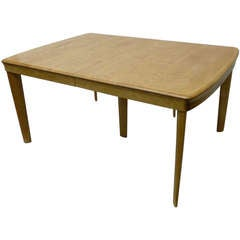 Heywood Wakefield Solid Maple Dining Table