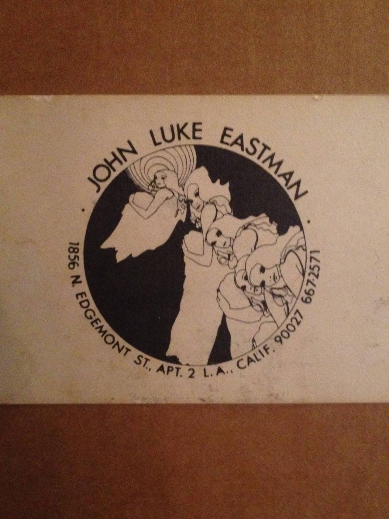 Psychedelic Lithograph by John Luke Eastman 2