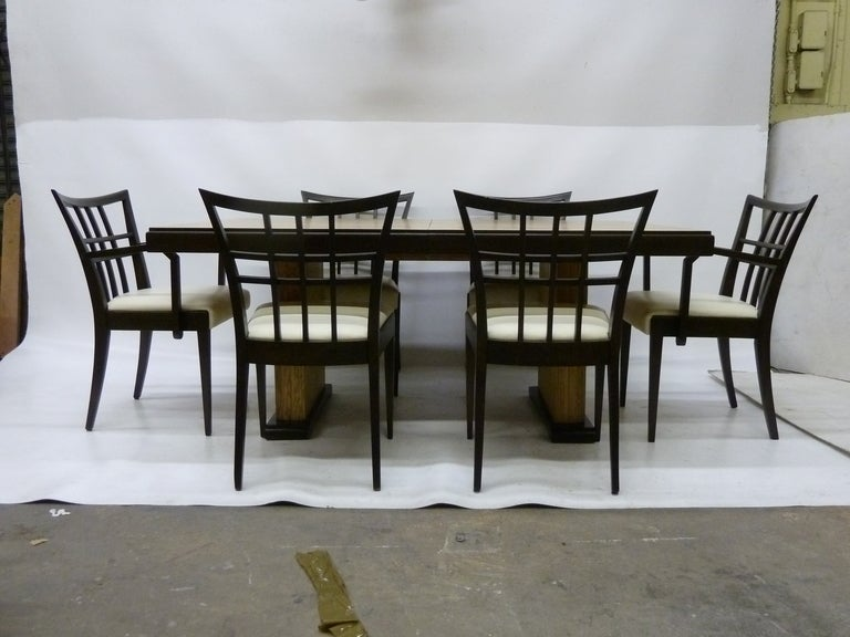 mid century modern dining set by paul frankl for brown saltman image 2