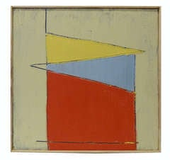 Abstract Geometric Painting by Christopher DiVincente