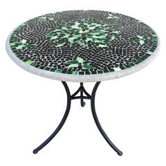 Charming  Outdoor Mosaic Patio Table