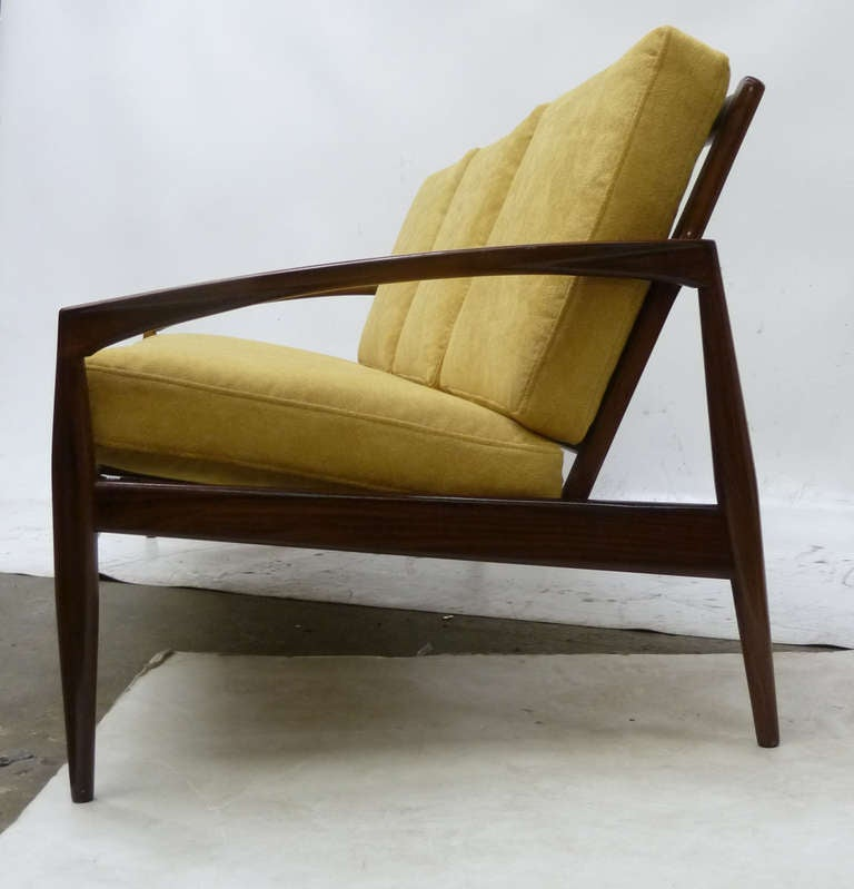 Mid century danish modern sofa by kai kristiensen at 1stdibs Danish modern furniture