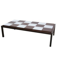 Checkerboard Top Coffee Table by Lane