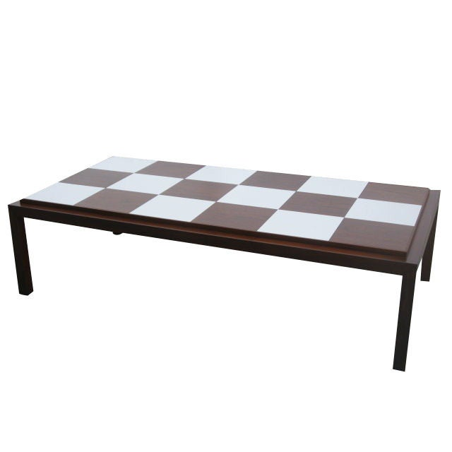 Park Lane Coffee Table: Checkerboard Top Coffee Table By Lane At 1stdibs