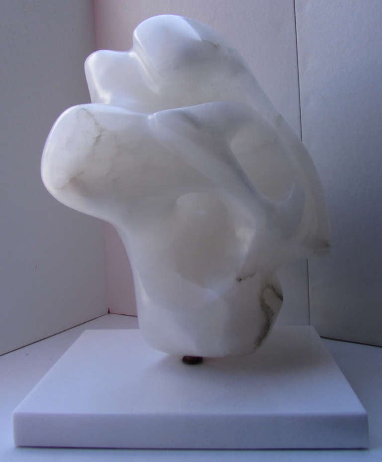 Amorphous Alabaster Sculpture Attributed to Ilona Passino 7