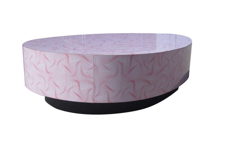Egg Shaped Table large-scale egg-shaped coffee tablekarim rashid for sale at