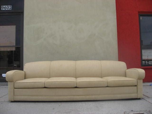 Aerodynamic Sofa By Harwell Hamilton Harris For Sale At 1stdibs