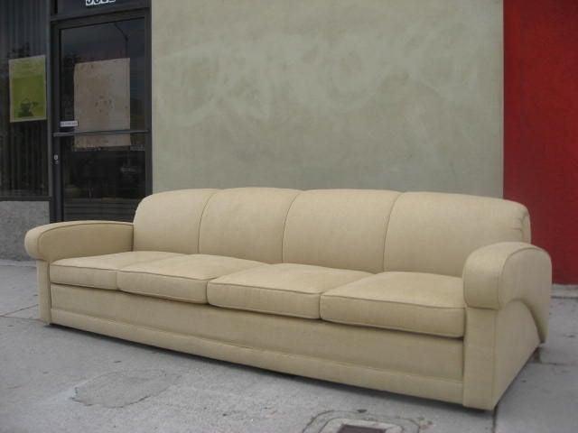 Aerodynamic Sofa By Harwell Hamilton Harris For Sale At