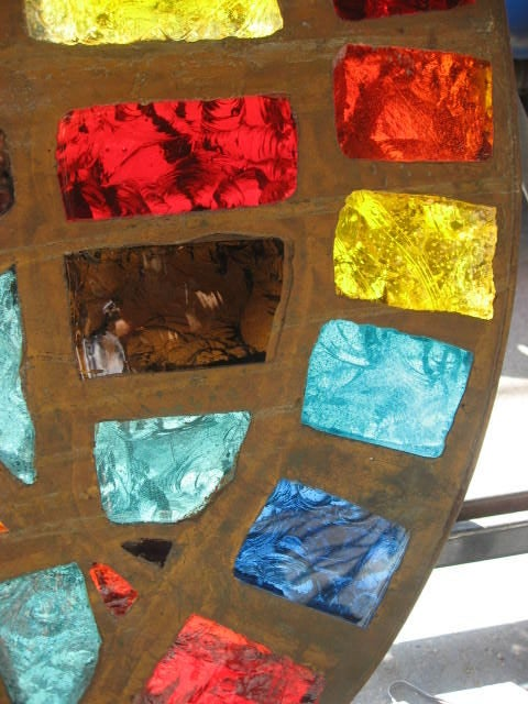 French Mid-Century Stained-Glass Window 5