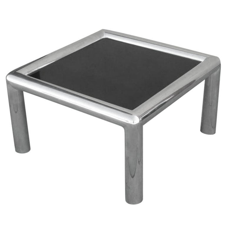American Cast Aluminum Coffee Table By John Mascheroni At 1stdibs