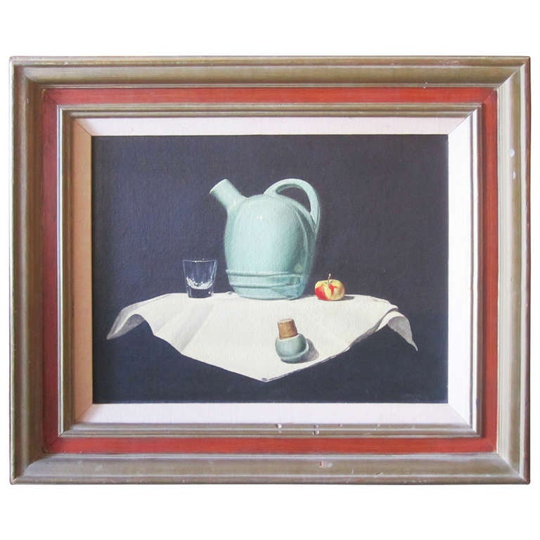 Mid Century Modern Still Life Painting At 1stdibs