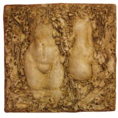 Mid-Century Seductive Sculpture by Lloyd Glasson