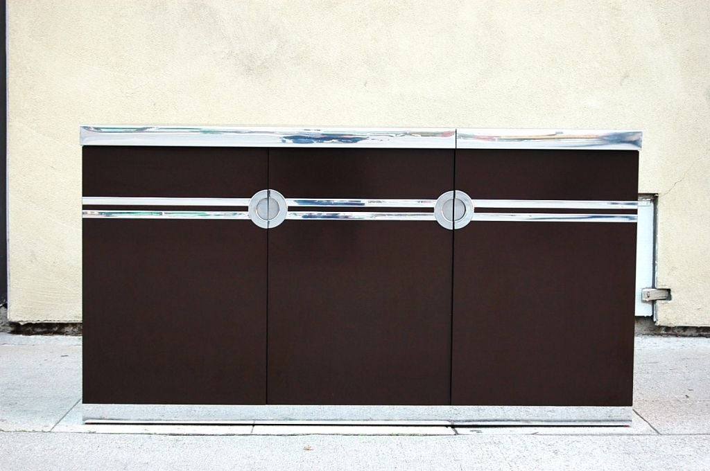 French Bar/ Cabinet by Pierre Cardin